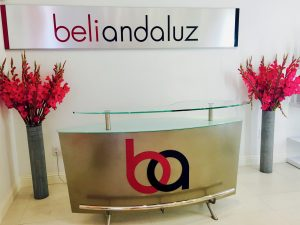 reception area Beli Andaluz Salon in Las Vegas