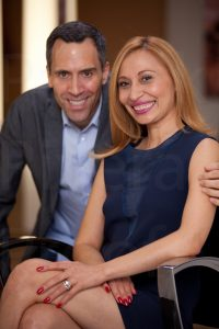 Beli and Scott, owners of Beli Andaluz Salon
