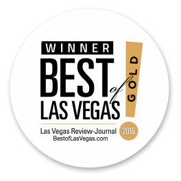 Beli Andaluz Salon Las Vegas awarded Las Vegas Review Journal's gold winner Best of Las Vegas 2013 and 2016